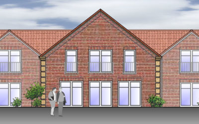 Neubau eines Seniorenpflegeheims in Dornum